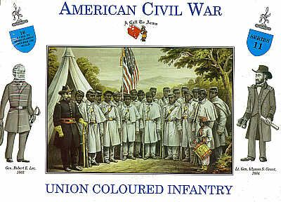 A Call To Arms 1/32 American Civil War Union Coloured Infantry # 3211