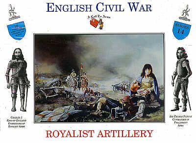 A Call To Arms 1/32 English Civil War Royalist Artillery # 3214