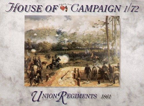 A Call To Arms 1/72 Union Regiments 1861 # 7260