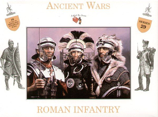 A Call to Arms 1/32 Ancient Wars Roman Infantry # 3229