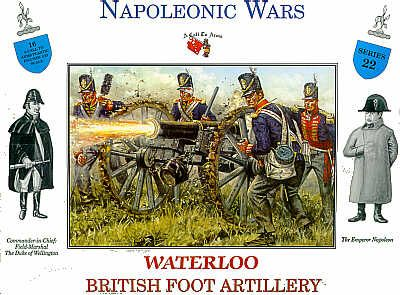 A Call to Arms 1/32 British Foot Artillery Waterloo # 3222