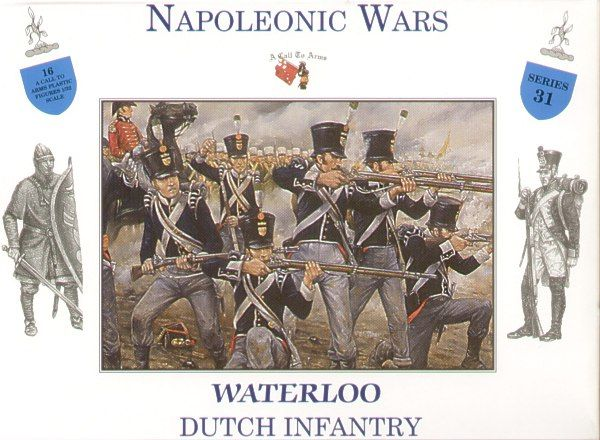 A Call to Arms 1/32 Napoleonic Wars Waterloo Dutch Infantry # 3231