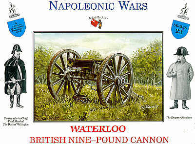 A Call to Arms 1/32 Waterloo British 9lb Cannon # 23