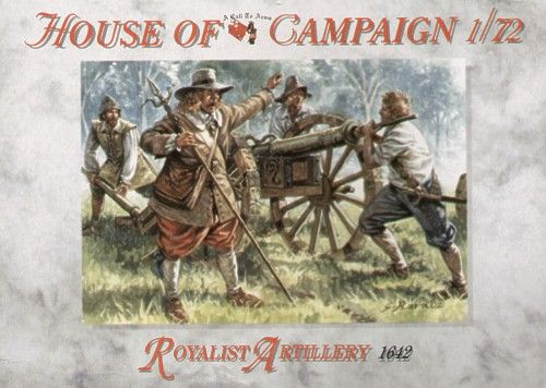 A Call to Arms 1/72 House of Campaign Royalist Artillery 1642 # 7259