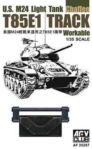 AFV 1/35 T85E1 Workable Track for U.S. M24 Chaffee Light Tank #