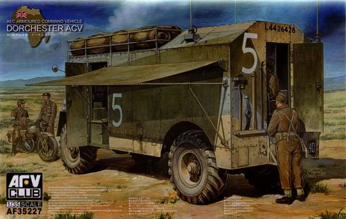 AFV Club 1/35 AEC Dorchester 4x4 ACV (Full Interior) # 35227
