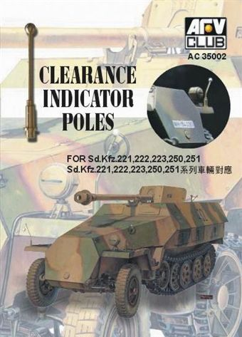 AFV Club 1/35 Clearance Indicator Poles # AC35002