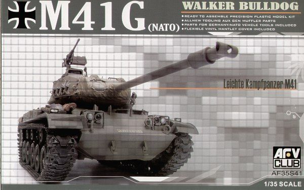 AFV Club 1/35 M41G Walker Bulldog # AF35S41