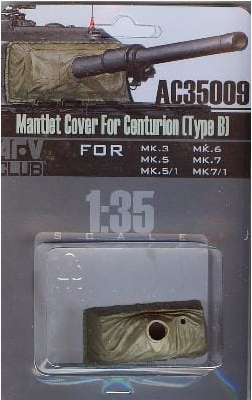 AFV Club 1/35 Mantlet Cover for Centurion (Type B) # AC35009