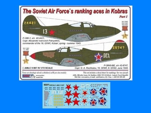 AML 1/72 The Soviet Air Force's Ranking Aces in Kobras Part I #
