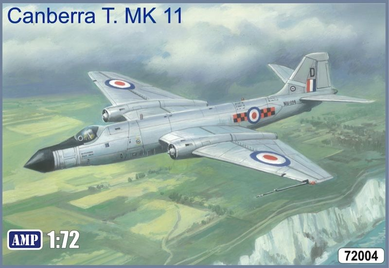 AMP 1/72 BAC/EE Canberra T.11 Including Etched Parts # 72004