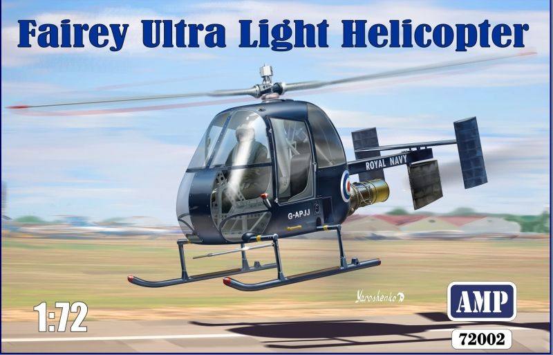 AMP 1/72 Fairey Ultra Light Helicopter # 72002