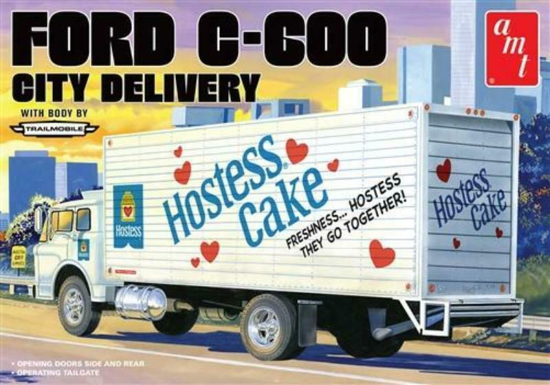 AMT 1/25 Ford C-600 City Delivery - Hostess Cake # 1139