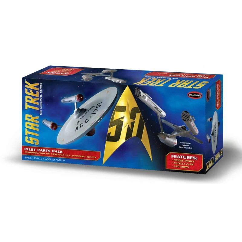 AMT 1/350 Star Trek TOS USS Enterprise - Pilot Parts Pack # MKA018