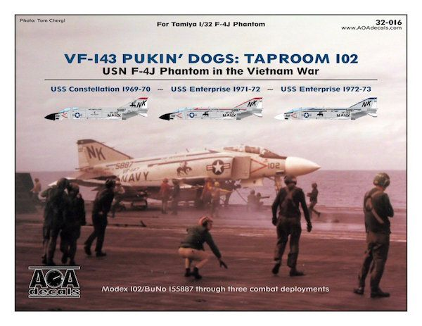 AOA Decals 1/32 VF-143 Pukin' Dogs: Taproom 102 # 32016