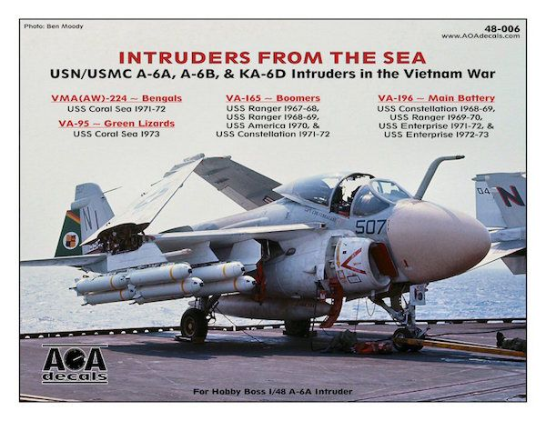 AOA Decals 1/48 Intruders from the Sea # 48006