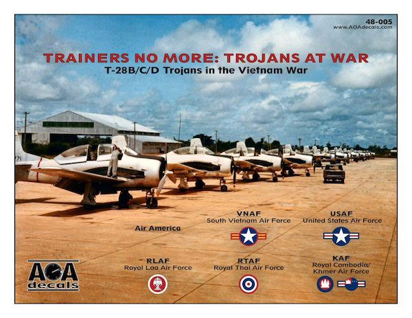 AOA Decals 1/48 Trainers No More: Trojans At War # 48005