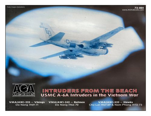 AOA Decals 1/72 Intruders from the Beach # 72001