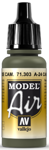 AV Model Air 17ml - A-24M Camouflage Green # 71303