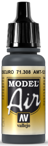 AV Model Air 17ml - AMT-12 Dark Grey # 71308
