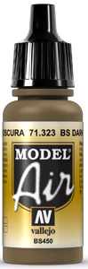 AV Model Air 17ml - BS Dark Earth # 71323
