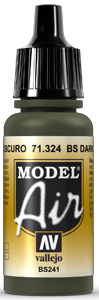 AV Model Air 17ml - BS Dark Green # 71324