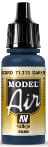 AV Model Air 17ml - Dark Mediterranean Blue # 71313