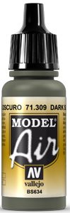 AV Model Air 17ml - Dark Slate Grey # 71309
