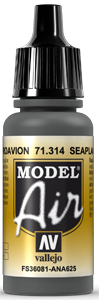 AV Model Air 17ml - Seaplane Gray # 71314