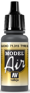 AV Model Air 17ml - Tyre Black # 71315