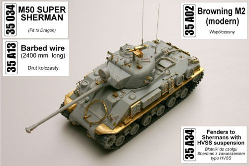 Aber 1/35 2400mm Barbed Wire # 35A13
