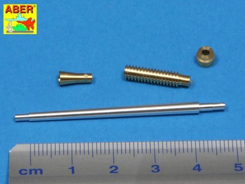 Aber 1/35 Barrel for 40mm Bofors Anti-Aircraft Gun for All Models # 35L93