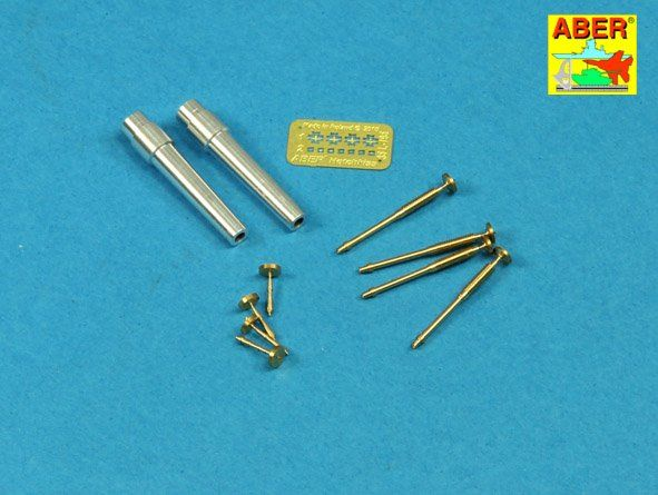 Aber 1/35 Barrels for British WWI Tank Mk.V Male for 6pdr # 35L207