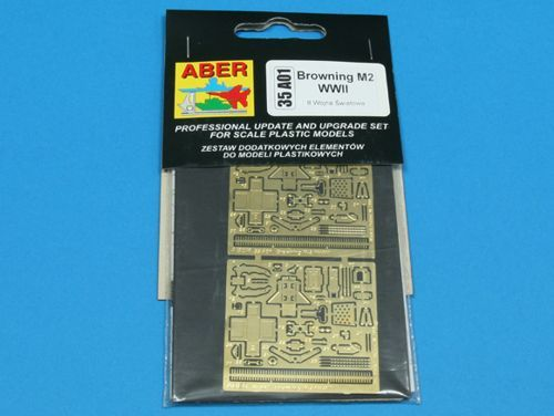 Aber 1/35 Browning M2 WWII (x2) Detailing Set # 35A01