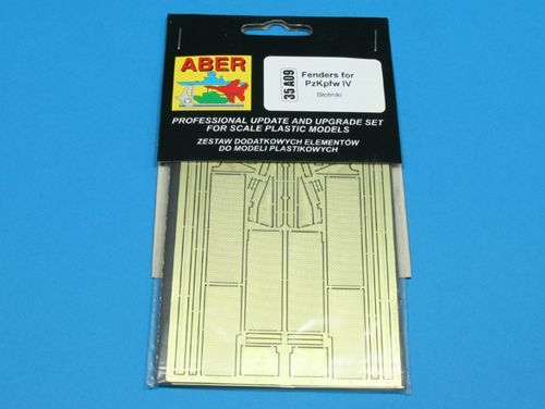 Aber 1/35 Pz.Kpfw.IV Fenders (All Versions) Detailing Set # 35A09