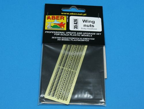 Aber 1/35 Wing Nuts Detailing Set # 35A26