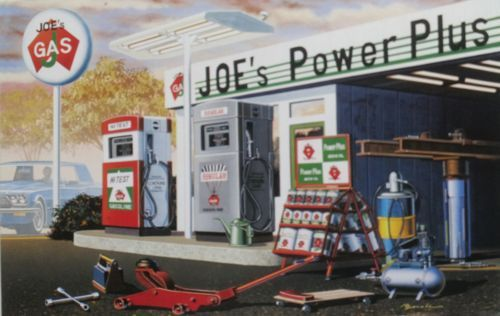 Academy 1/24 Joe's Power Plus Service Station # 15122