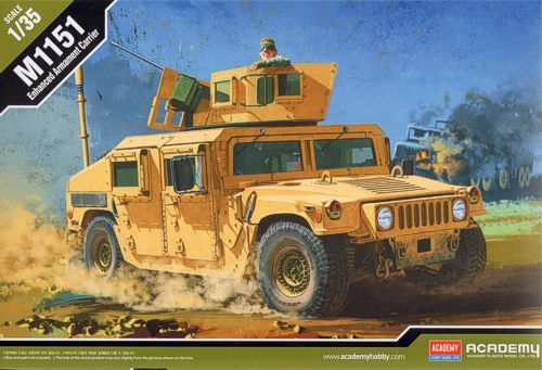 Academy 1/35 M1151 Enhanced Armament Carrier # 13415