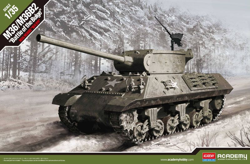 "Academy 1/35 M36/M36B2 US Army ""Battle of the Bulge"" # 13501"