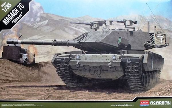 "Academy 1/35 Magach 7C ""Gimel"" Modernised Israeli Army Tank (Variant of M60) # 13297?"