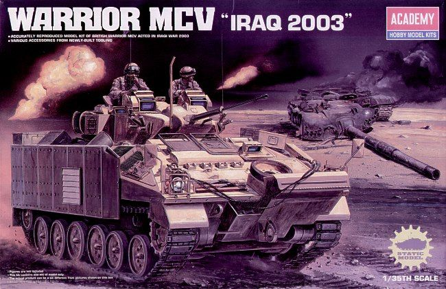 "Academy 1/35 Warrior MCV ""Iraq 2003"" # 13201"
