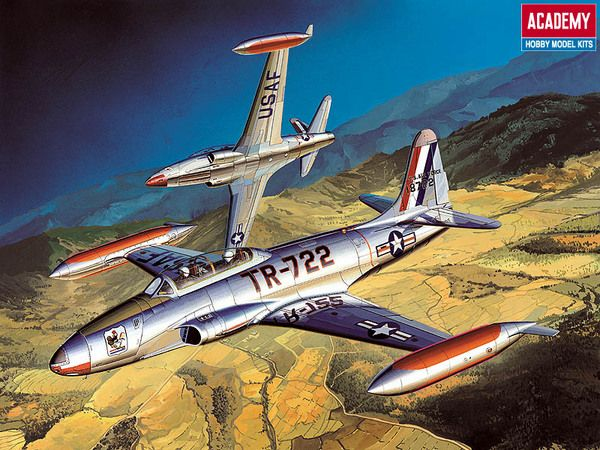 Academy 1/48 Lockheed T-33A Shooting Star # 12284