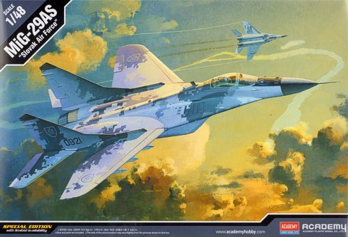 "Academy 1/48 MiG-29AS ""Slovak Air Force"" # 12227"