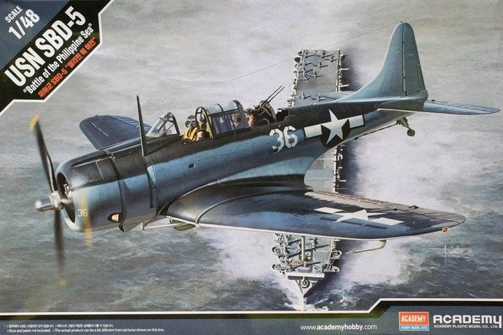 "Academy 1/48 USN SBD-5 ""Battle of the Philippine Sea"" # 12329"