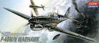 Academy 1/72 Curtiss P-40M/N Warhawk # 12465