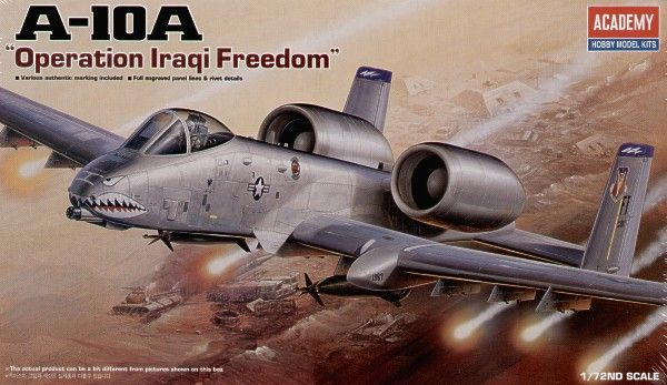 "Academy 1/72 Fairchild A-10A ""Operation Iraqi Freedom"" # 12402"