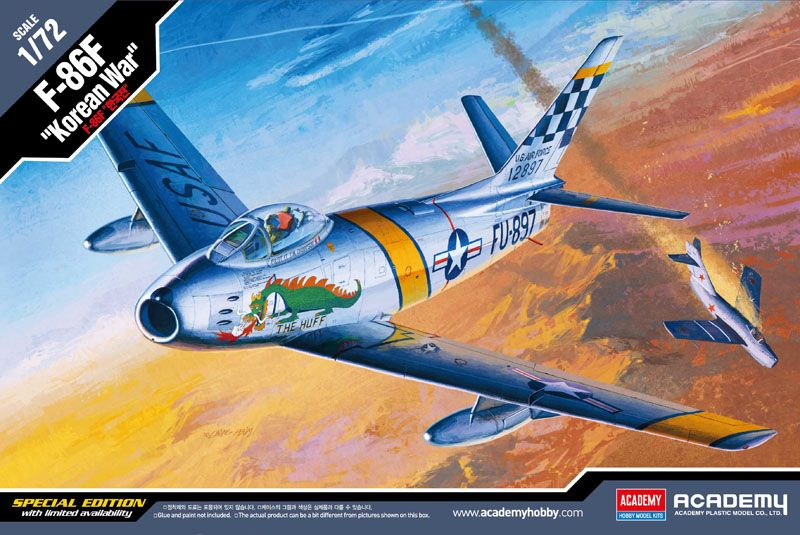 "Academy 1/72 North American F-86F Sabre ""Korean War"" # 12546"