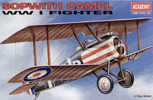 Academy 1/72 Sopwith Camel WWI Fighter # 12447