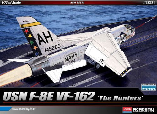 Academy 1/72 USN F-8E VF-162 'The Hunters' # 12521