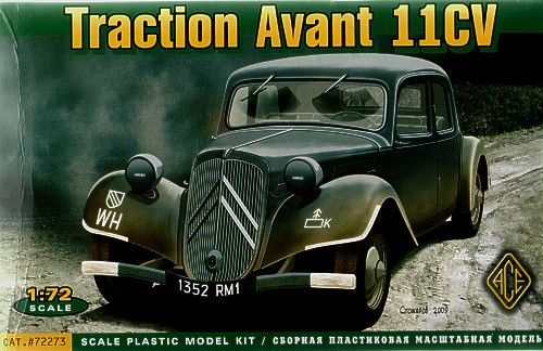 Ace 1/72 Citroen Traction Avant 11CV # 72273